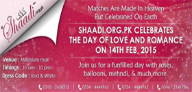 Day of Love Celebration - shaadi event