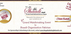 3rd Grand Matchmaking Event - Shaadi Organization